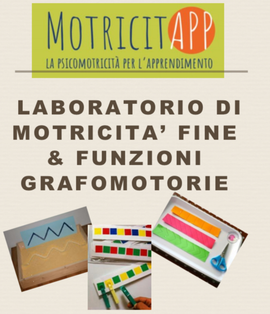 dal 1 aprile 2019 MINIGRUPPO DI GRAFO&FINO-MOTRICITA'  fascia 1°e 2° primaria